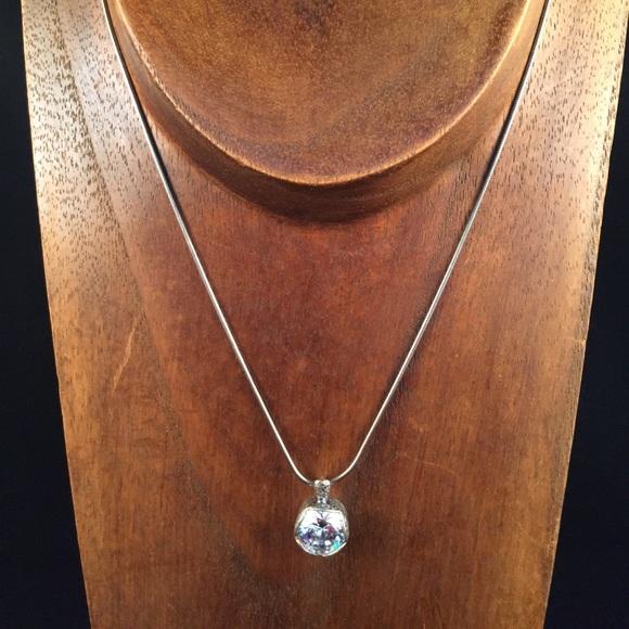 Silpada jewelry cubic zirconia pendant necklace poshmark m5a4ac09bb7f72beea406032e aloadofball Image collections